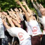 Yoga Aid Participants