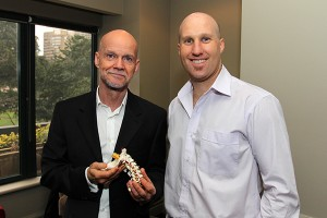 Brendan Rigby (Inspire Fitness for Wellbeing) and Dean Watson (Creator of the Watson Headache Approach)