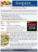 Members' Seminar: Your Day On A Plate | Inspire Fitness for Wellbeing