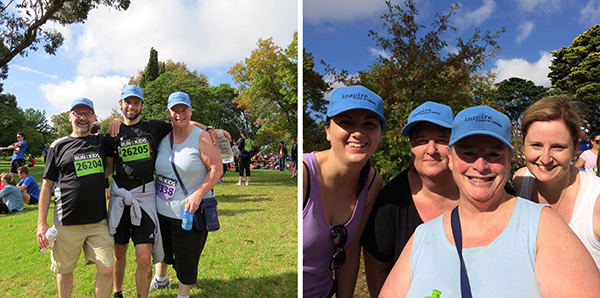 Inspire Fitness members complete the Run For The Kids 2014