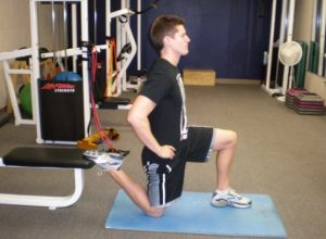 Personal Trainer Hip Flexor Stretch